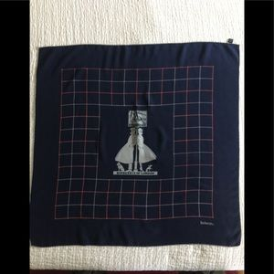 Burberrys of London vintage logo silk scarf